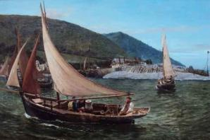 Porlock oyster painting to inspire Somerset's kids