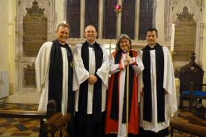 Dulverton welcomes new associate vicar