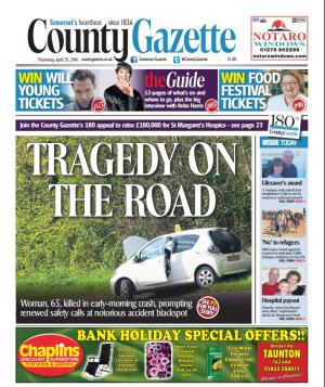 Somerset County Gazette: OUT NOW: This week's Somerset County Gazette