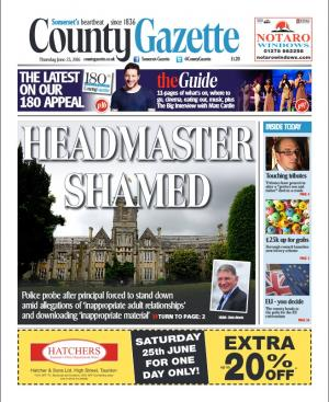 Somerset County Gazette: Police probe after principal at one of Taunton's top independent schools resigns over allegations