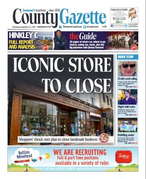 Somerset County Gazette: Iconic County Stores plans to close