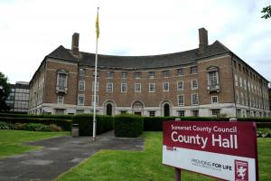 Somerset County Gazette: Somerset County Council £24million over budget